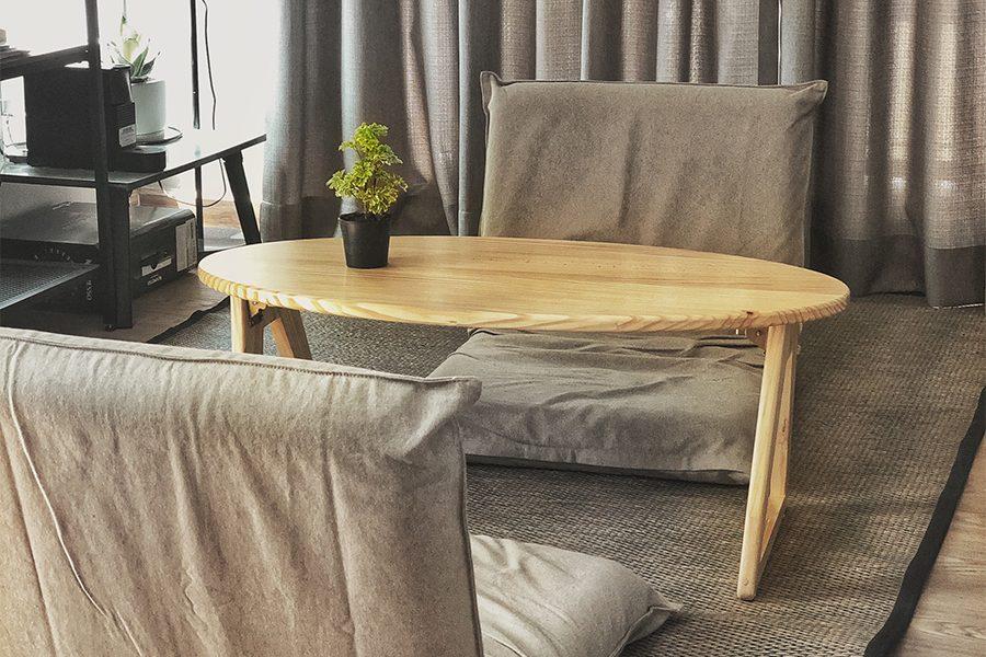 ออกแบบและผลิตโต๊ะญี่ปุ่น